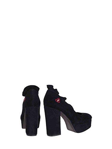 Negro Zapatos Mujeres Fornarina Pi18mn1038s000 Fornarina Pi18mn1038s000 w1xzaqXCY