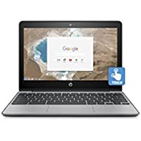 HP 11-v025wm, 11.6 Touch Chromebook, Chrome OS, Intel Celeron N3060, 4GB Memory, 16GB eMMC Storage, 2X2 802.11ac