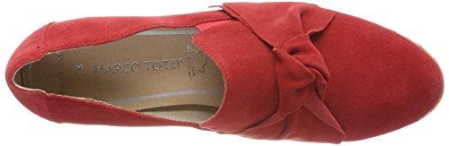Marco Tozzi Premio Damen 24216 Slipper Rot (Chili)