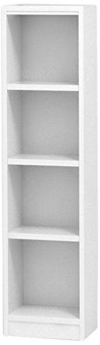 白井産業(SHIRAI) タナリオ オーダーラック 高さ120cm 幅26cm 奥行19cm ホワイト 棚強度ST 追加棚板1枚 TNL-EM12026ASTF2WT1 B0145HDEYC ホワイト|1 ホワイト