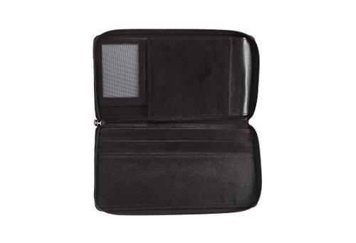 Leather Black Italian by Black Hansson Design Colorado Italian Travel Wallet qtO46x7w7
