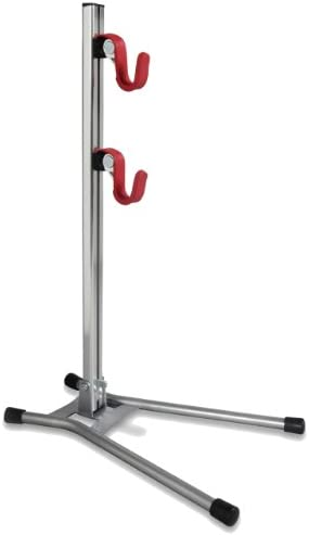 Minoura Display Stand, Silver Red