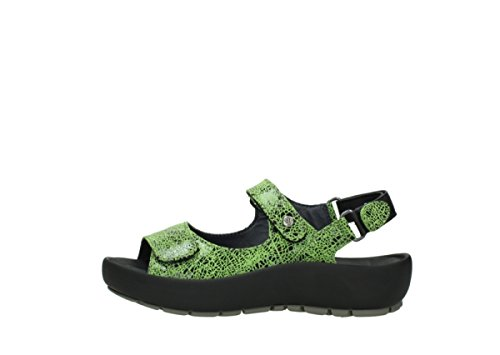 Winter Dive suede 475 Lacets À Wolky crash lime Chaussures O6nptT