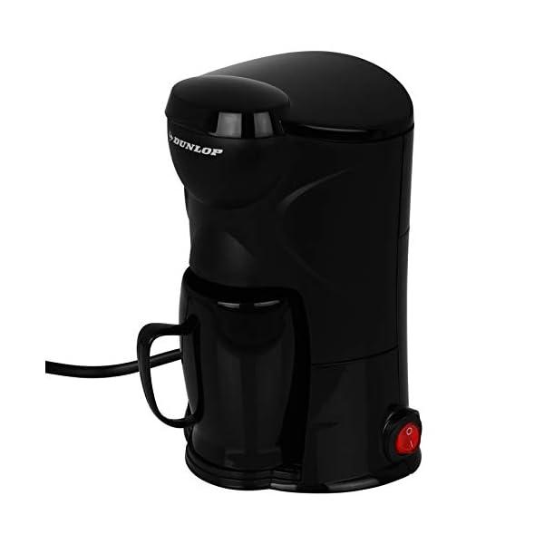 31fCeu4UQ4L Dunlop - Kaffeemaschine - Kaffee - Kaffe to go - Auto 12V - LKW 24V - für 1 Tasse - mit Modellwahl (1 Tasse 12V)