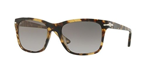 Persol Sunglasses Tortoise/Grey Acetate - Polarized - - Persol Acetate Sunglasses