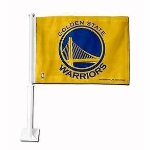 - RICO INDUSTRIES Golden State Warriors CAR Flag NBA Basketball