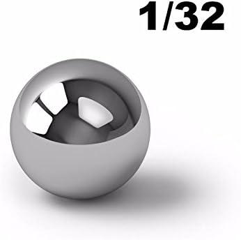 1//32 Inch Chrome Steel Ball Bearings G5-20000 Balls