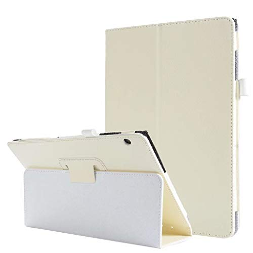 Vansee❤❤for Huawei Mediapad T5/C5 10.1Inch Slim Stand Shell Cover Case with Auto Sleep/Wake (White)
