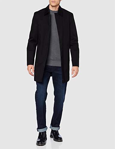 HUGO Marec2041 Manteau habillé, Noir (1), 48 Homme