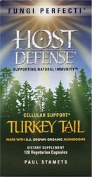 HOST DEFENSE Turkey Tail, 120 Count