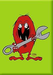 Artista Fancy a Donny llave Gremmie Fink Monster imán para nevera