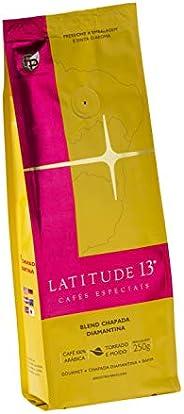 Café Blend Chapada Diamantina Torrado e Moído Latitude 13 250g