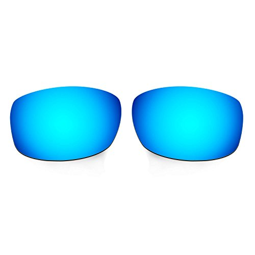 Hkuco Mens Replacement Lenses For Costa Zane Sunglasses Blue/Titanium/Emerald Green