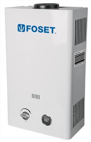 Foset CALE-11I Calentador de Agua, Instantáneo, Gas LP, 11 l