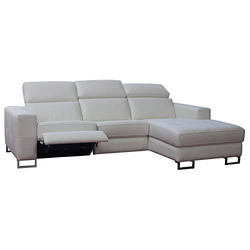 DLM Design delamaison sofá de ángulo Vertical de Piel con ...