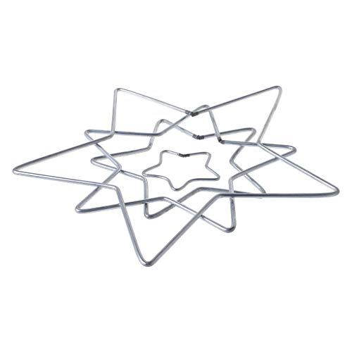 Yeahii Star Metal Dream Catcher Dreamcatcher Ring Macrame Craft Hoop DIY Accessories by Yeahii (Image #3)