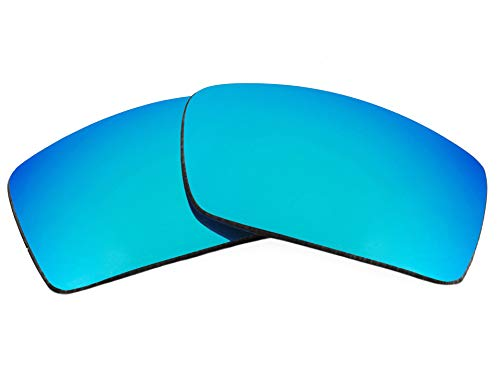 Replacement Lenses Compatible with OAKLEY Gascan Polarized Ice Blue Mirror