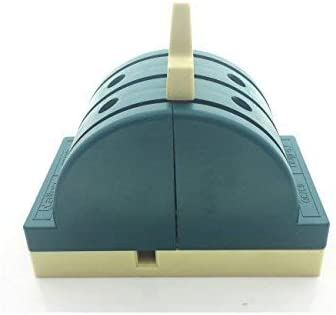 AC 380V 63A 3 polos de doble tiro Control de seguridad Interruptor de cuchilla Interruptor de cierre Verde