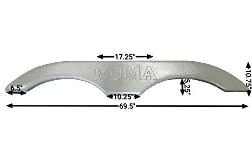 Forest River RV Puma Tandem Axle Fender Skirt