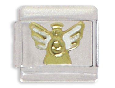 Angel 9mm Italian Charm (Angel Italian Charm Bracelet Link)