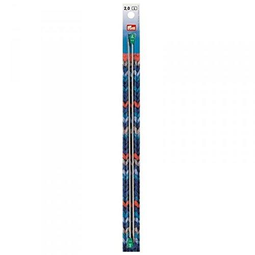 Aluminium Knitting Needle 7mm, 40cm Long Prym