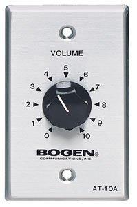 Bogen 10 Watt Attenuator - Single Gang