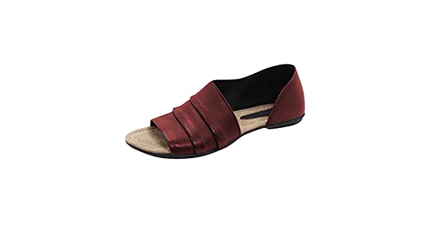 Amazon.com: Sandals for Women Platform Casual, Sharemen Flats Shallow Mouth Peep Toe Beach Shoes Roman Sandals: Clothing