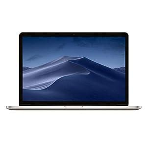 Apple 15 inch MacBook Pro Laptop (Retina Display, 2.2GHz Intel Core i7, 16GB RAM, 256GB Hard Drive, Intel Iris Pro Graphics) Silver, MJLQ2LL/A (Refurbished)