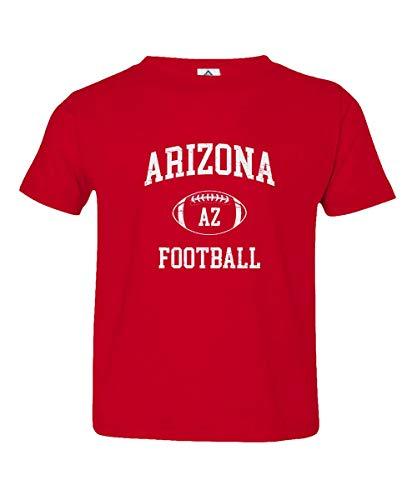 - Sheki Apparel Football Hometown Pride Cardinal Toddler T-Shirt (Red, 5T)