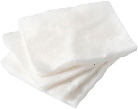 MUJI Makeup Facial Soft Cut Cotton Unbleached 60x50 mm 140pcs by Muji: Amazon.es: Belleza