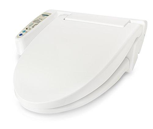 Feel Fresh HI-3000WT Round Basic Electric Bidet Seat White by Feel Fresh