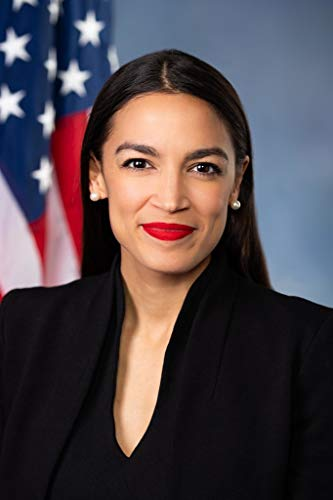 Alexandria Ocasio Cortez AOC Official Portrait Photo Poster 12x18 Inch]()
