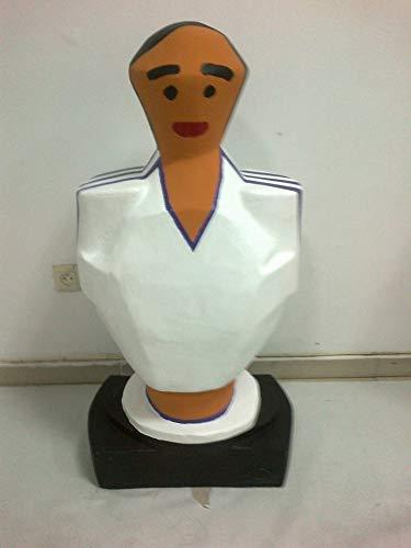 Real Madrid escultura mas de un metro de altura muñeco futbolin ...