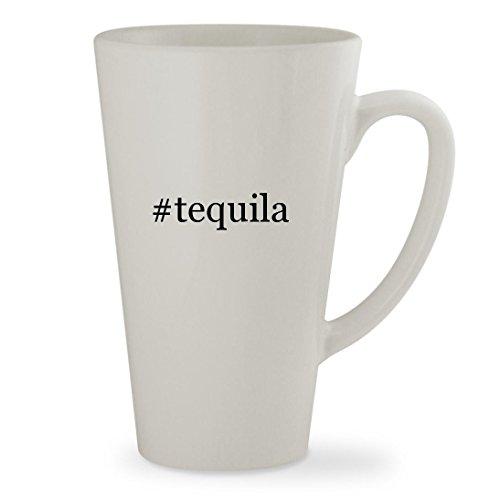 Milagro Reposado - #tequila - 17oz Hashtag White Sturdy Ceramic Latte Cup Mug