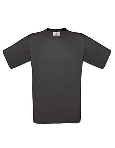 T-Shirt Exact 190 Basics Rundhals Shirt viele Farben B&C S-XXL