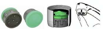 4 opinioni per Risparmio fino al 50% di acqua e di energia- Kit 4 Filtri Riduttori di Flusso