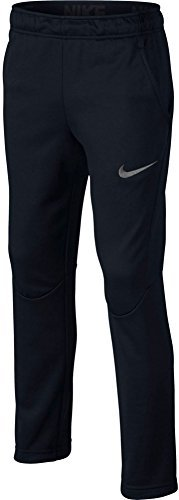 Nike Youth Boys Therma Fleece Lined Athletic Pants, Black, Big Kids XL (3 Pack) by NIKE