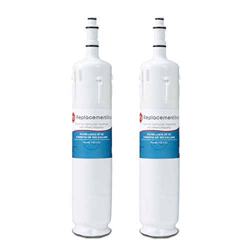 ReplacementBrand SA3-2PK Samsung DA29-00012B Comparable Refrigerator Water Filter (Pack of 2)