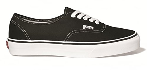 Vans Men's Authentic Skate Shoes 12 , Black/White