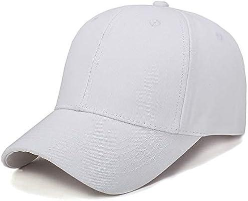 Gorra de Caballero IMmps Gorra de Sol Curvada Gorra de béisbol de ...