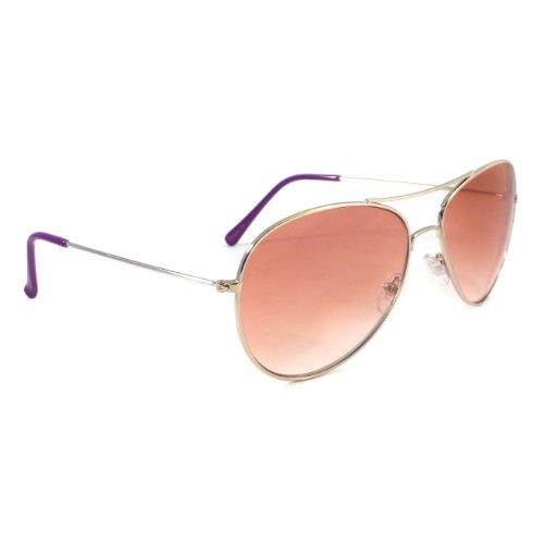 AIR FORCE Aviator Retro Pilot Silver Metal Shades Sunglasses - Shades Aviator Tom Cruise