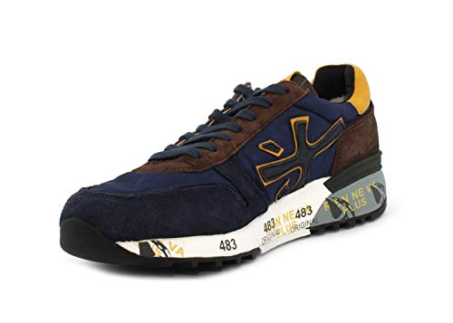 Blu da Sneaker Mick Blu Uomo Mick PREMIATA 3249 Pre xFAHqIx7w