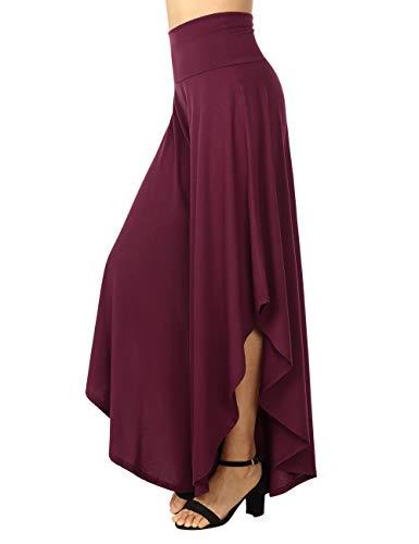 Para Oscuro Deportivo Rojo Pantalón Mujer Bootcut Baishenggt R7atxnW