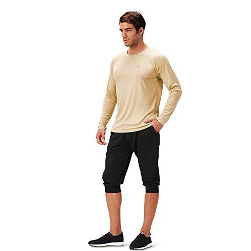Naviskin Men's Sun Protection UPF 50+ UV Outdoor Long Sleeve T-Shirt
