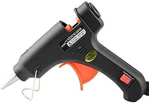 آمنة وفعالة 20W مسدس الغراء ذوبان الساخنة الأسود