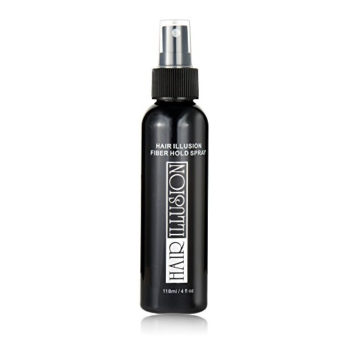 HAIR ILLUSION - Fiber Hold Hair Spray 4oz (Not Hair Fibers)