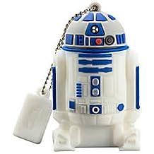 KIDdesigns USB 2.0 Flash Drive, 16GB, Star Wars R2D2, Blue, LYU16CRFXV7