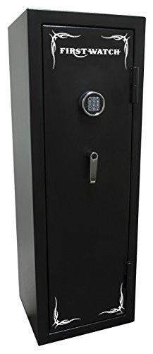 First Watch 8-Gun Black Hills Series Fire-Resistant Electronic Safe, Black Powder Coat, BH50136080