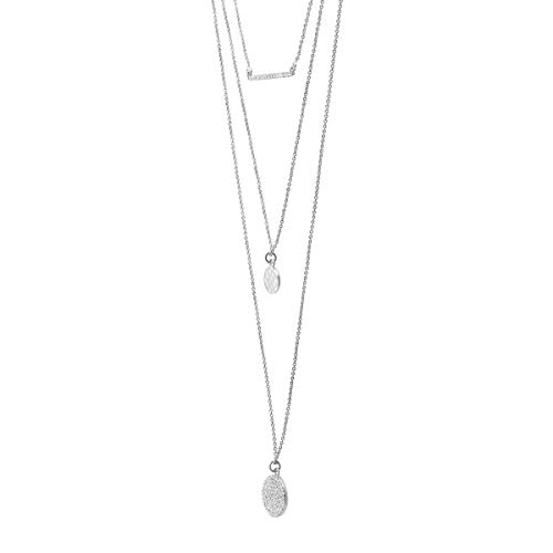 Silpada 'Triple Drop' 1/2 ct Cubic Zirconia Necklace in Sterling Silver by Silpada (Image #1)