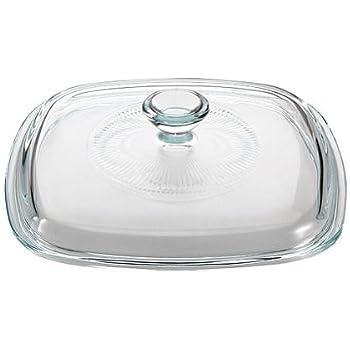 CORNINGWARE StoveTop 1-L to 1.75-L Square Glass Cover